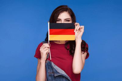 Deutsch in Englischkurs Sprechen