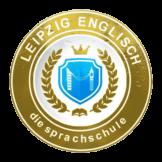 Leipzig Englisch Sprachschule logo with reflection